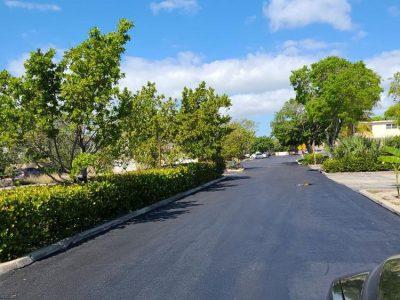 Pave Roadway