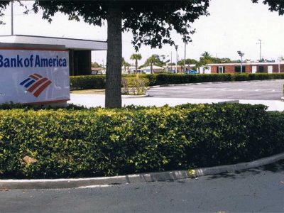 Bank Of America Parking Lot