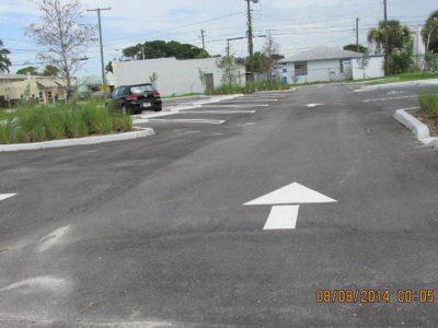 Church Parking Lot Arrows