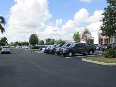 Dealership Parking Lot