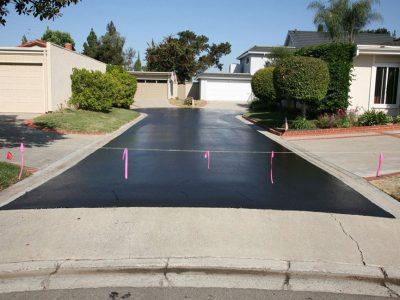Neighborhood Road Seal Coating