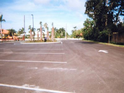 Parking Lot With Lines