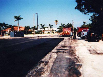 Paving Parking Lot