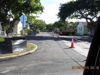 Paving Street