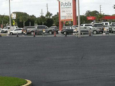 Shopping Parking Lot